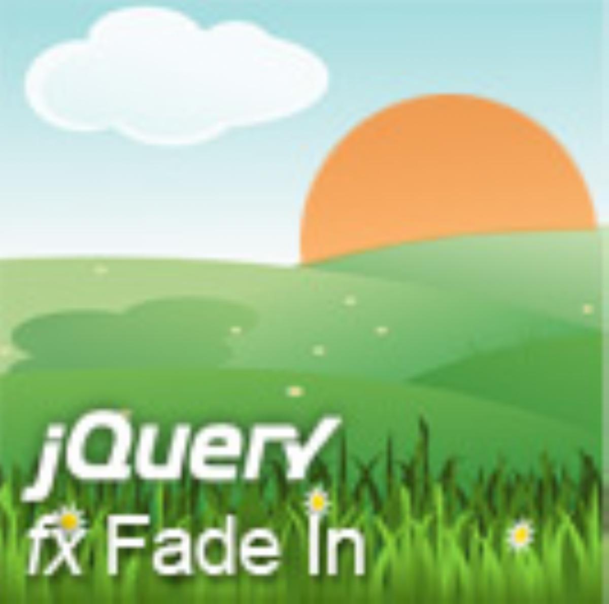 JQuery fx Fade In